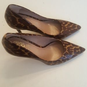 Vince Camuto Animal Print Heels in Size 7 B.
